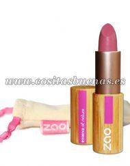 Barra de labios ecológica mate 461 Rose Bonbon ZAO