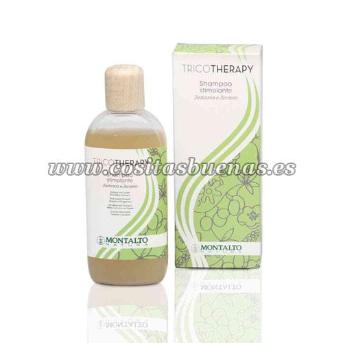 Champú ecológico estimulante para cabello débil