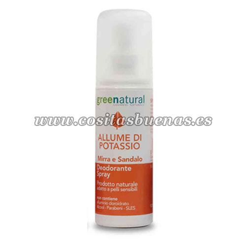 desodorante spray ecológico mirra sándalo