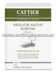 arcilla blanca superfina cattier