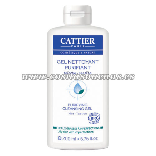 Gel limpiador purificante Bio CATTIER