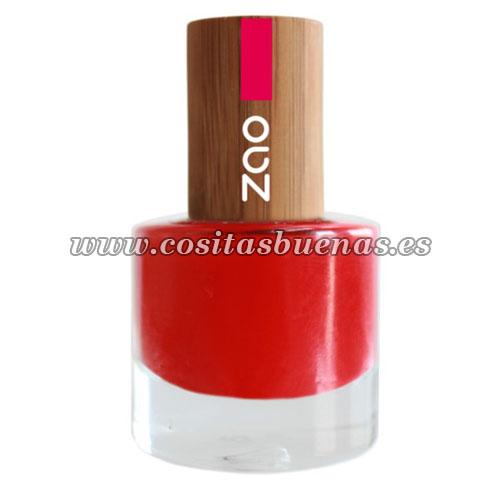 Esmalte de uñas 650 Rouge Carmin ZAO