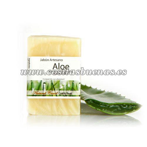 Jabón artesano de Aloe Vera