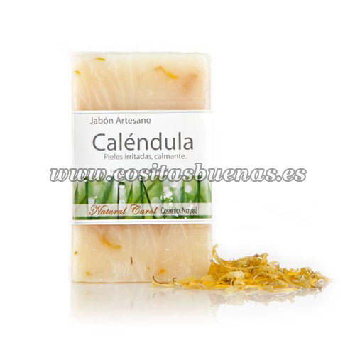 Jabón artesano de Caléndula NATURAL CAROL