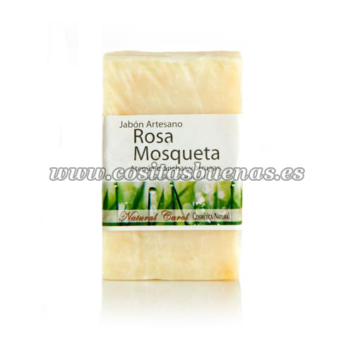 Jabón artesano de Rosa Mosqueta Bio NATURAL CAROL