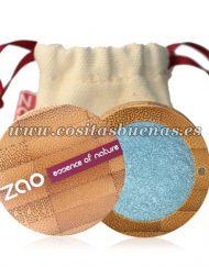 Sombra de ojos ecológica nacarada 116 Bleu Canard ZAO