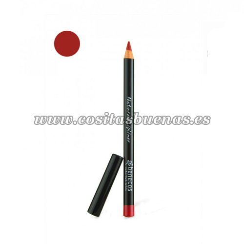 Lápiz perfilador de labios ecológico Rojo BENECOS