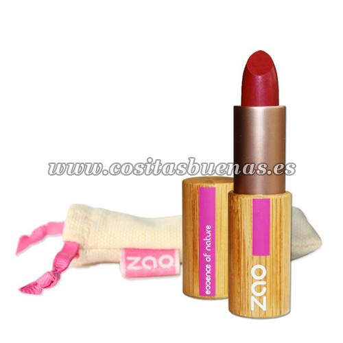 Barra de labios ecológica mate 463 Rose Rouge ZAO
