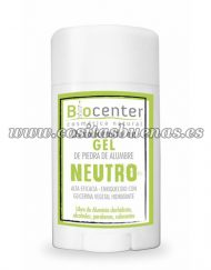 Desodorante en gel Neutro BIOCENTER