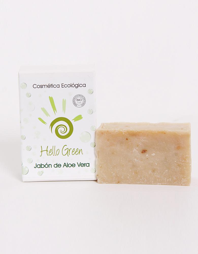 Jabón ecológico de Aloe vera HELLO GREEN