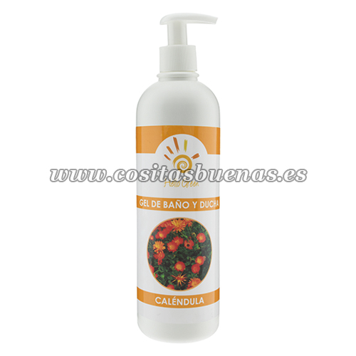 Gel de baño y ducha Caléndula Bio HELLO GREEN