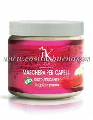 Mascarilla capilar reparadora de Fresas con Nata ALKEMILLA