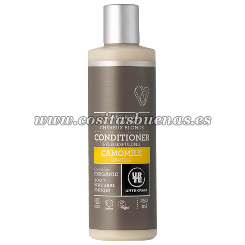 Acondicionador ecológico de Camomila para cabellos rubios URTEKRAM