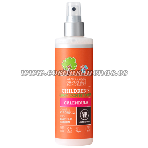 Spray acondicionador ecológico para niños de Caléndula URTEKRAM