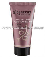 Maquillaje fluido ligero ecológico Dune BENECOS