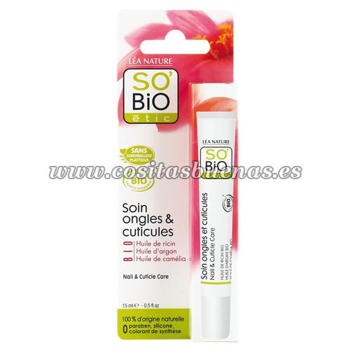 Cuidado de uñas y cutículas Bio SO'BIO ÉTIC