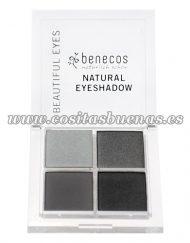 Sombra de ojos ecológica Quattro Smokey Eyes BENECOS