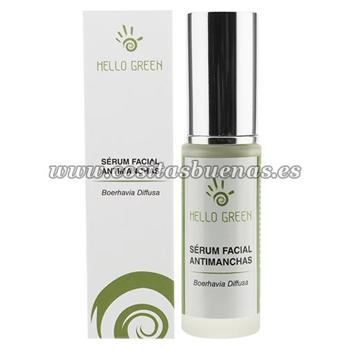 Sérum facial ecológico antimanchas HELLO GREEN