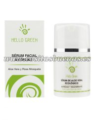 Sérum facial ecológico antimanchas HELLO GREEN