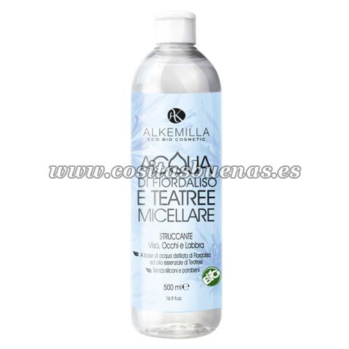 Agua micelar ecológica de Lirio y Árbol de Té ALKEMILLA