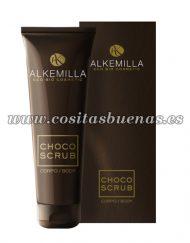 Exfoliante corporal ecológico de chocolate ALKEMILLA