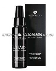 Cristales naturales cabello rubio ALKEMILLA K-Hair
