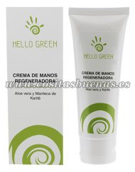 Crema de manos Bio de Aloe vera y Karité HELLO GREEN
