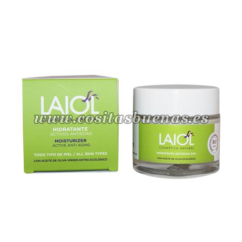 Crema facial con activos antiedad LAIOL