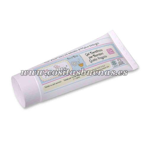 dentifrico ecologico para niños de aloe vera y malva