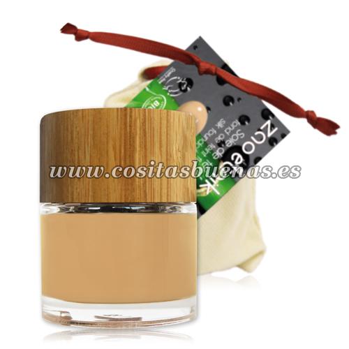 Maquillaje fluido ecológico Sable Claro 711