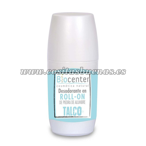 Desodorante roll-on Talco BIOCENTER