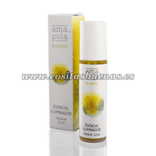 Aceite esencial iluminador ecológico AMAPOLA
