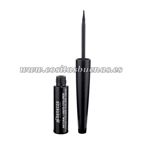 Eyeliner líquido ecológico Negro BENECOS