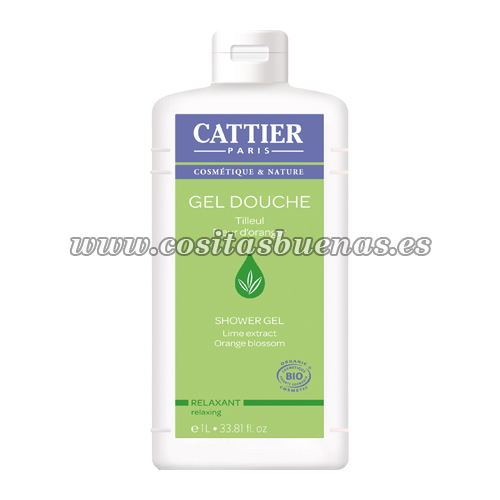Gel de ducha ecológico relajante CATTIER