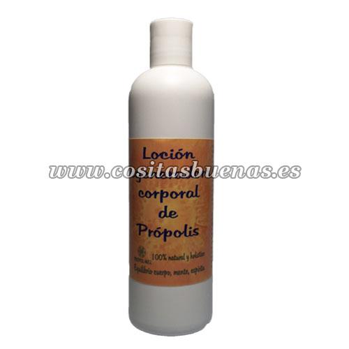 locion corporal regeneradora natural propolis