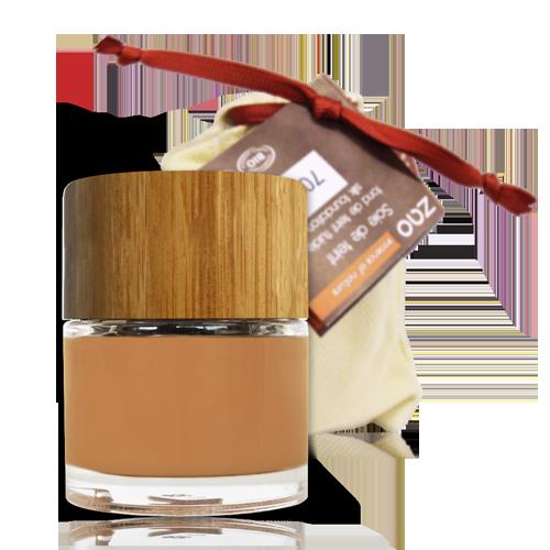 maquillaje fluido ecologico abricot 702 bambu bolsa