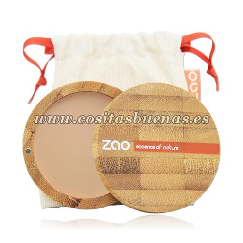 Polvo compacto ecológico 303 Brun Beige ZAO