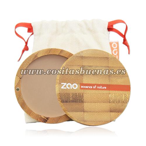 Polvo compacto ecológico 304 Capuccino ZAO