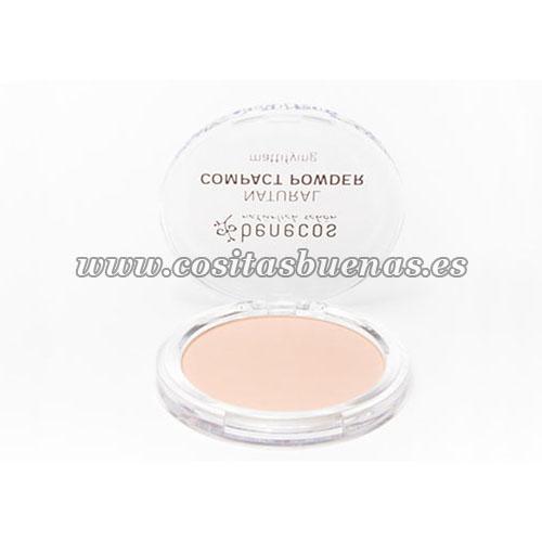 polvo ecologico compacto beige