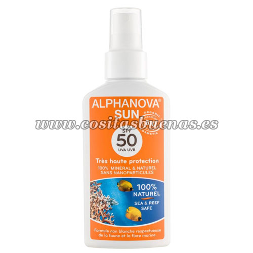 leche solar ecológica factor protector SPF 50
