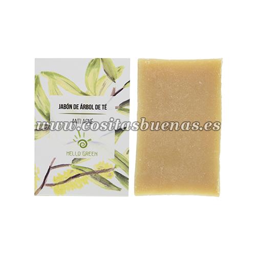 Jabón ecológico de Árbol de Té HELLO GREEN