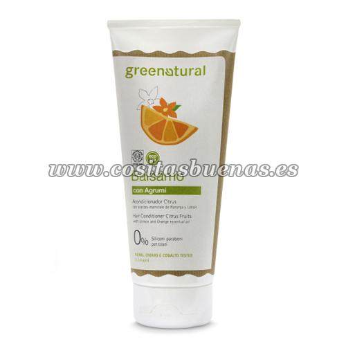 Acondicionador ecológico con Naranja y Limón GREENATURAL