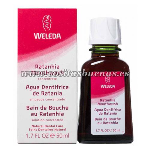 Agua dentífrica de Ratania WELEDA