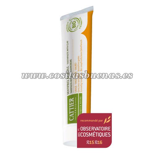 dentífrico Dentargile con Salvia Bio