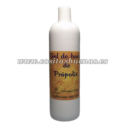 gel baño natural propolis