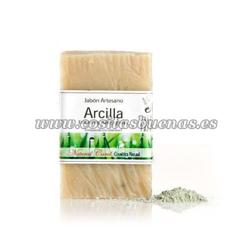 Jabón artesano de Arcilla NATURAL CAROL