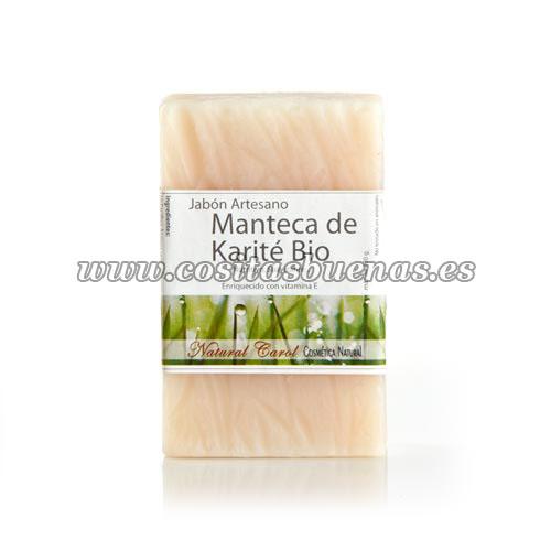 Jabón artesano de Manteca de Karité Bio NATURAL CAROL