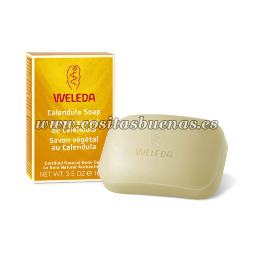 Jabón vegetal de Caléndula WELEDA