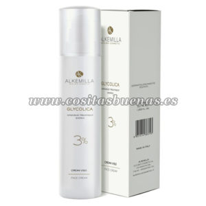 Crema facial con ácido glicólico 3% ALKEMILLA Glycolica